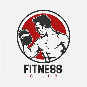 Fitness logo template design Vector | Free Download