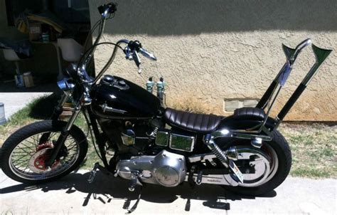 Harley Custom Dyna Bobber Chopper For Sale On 2040-motos