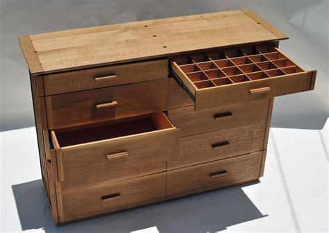 hand  dresser  quarter sawn white oak  allan