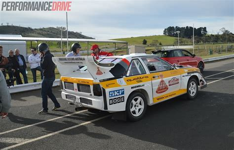 video audi sport quattro group  rally car experience