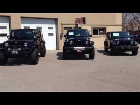 stock jeep vs lifted lifted 2013 unlimited wranglers compared to stock sport