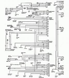 1984 Chevrolet El Camino Wiring Diagram Part 1  61802