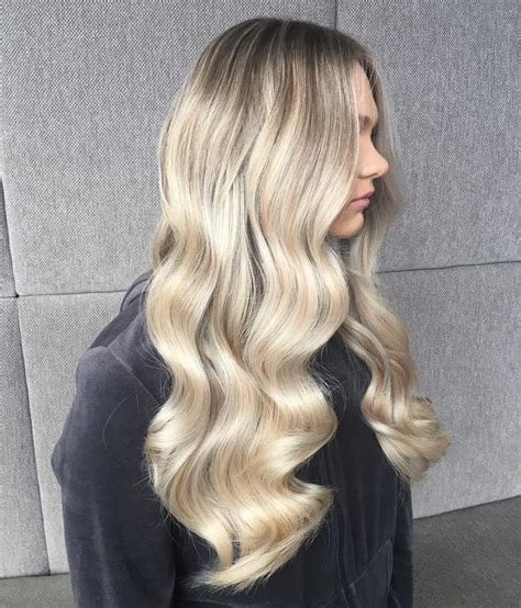 top long blonde hair ideas bombshell alert