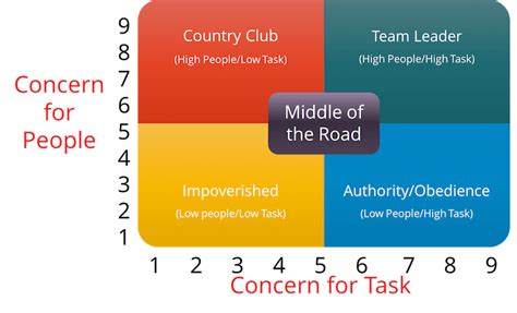 leadership grid    affects small businesses sinnaps