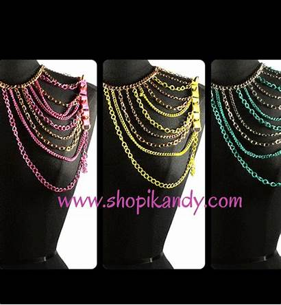 Shoulder Jewelry Chain Armor Chains Spikes Storenvy
