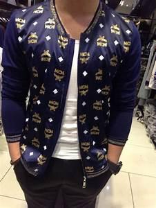 Designer Tights And Men New Fashion Korean Hip Hop Style Jacket Mcm Jacket