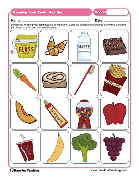 keeping healthy worksheets  grade  awesome worksheet