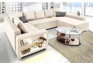Couch Mit Bettfunktion : collection ab xxl wohnlandschaft wahlweise mit ~ Pilothousefishingboats.com Haus und Dekorationen