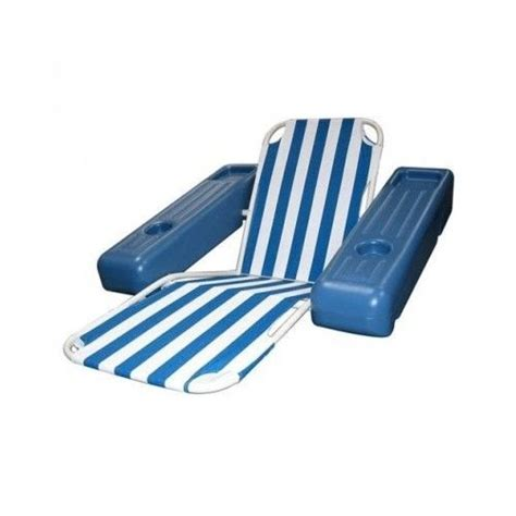 floating lounge pool chair lounger floats water
