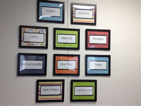 School Office Decor Ideas profile wall decorating my principal s office school