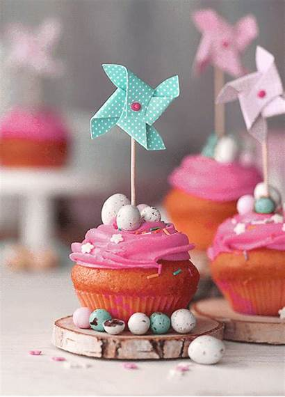 Happy Cupcake Easter Gifs Dessert Kitchen Butteryplanet