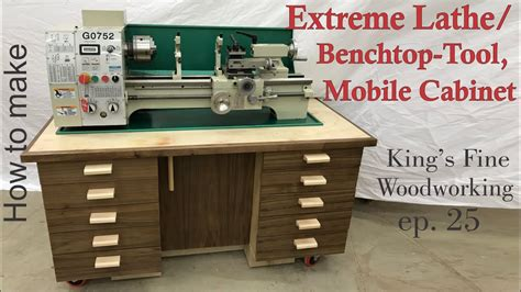 woodworking kitchen cabinets 25 how to build the lathe benchtop tool mobile 1185