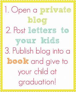 Create a book of letters to your kids perfect graduation for Create a book of letters