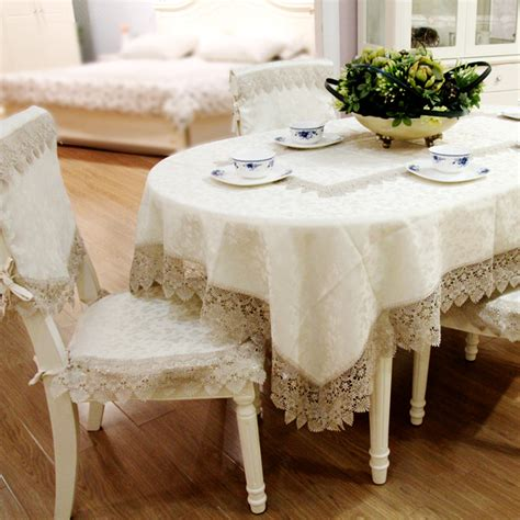 European Luxury Fashion Round Tablecloths Tablecloths