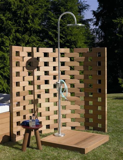 Dusche Für Den Garten by Gartenideen Mit Dusche Einen Au 223 Erordentlichen