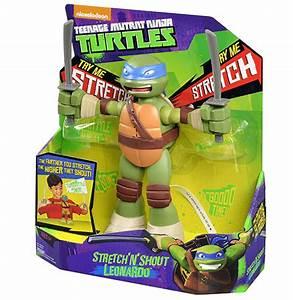Teenage Mutant Ninja Turtles Stretch N Shout Leonardo ...