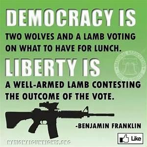 Ben Franklin Qu... Liberty Vs Freedom Quotes