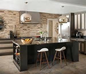 Antique White Kitchen Island Cocinas Modernas Con Isla Central Y Desayunador Diseños De Cocinas Modernas