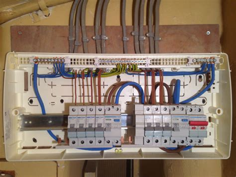consumer unit installation boyter electrical services ltd
