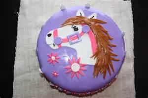 Pink Horse Birthday Cake
