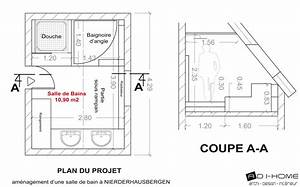 plan salle de bain avec douche et baignoire salle de With salle de bain douche et baignoire plan