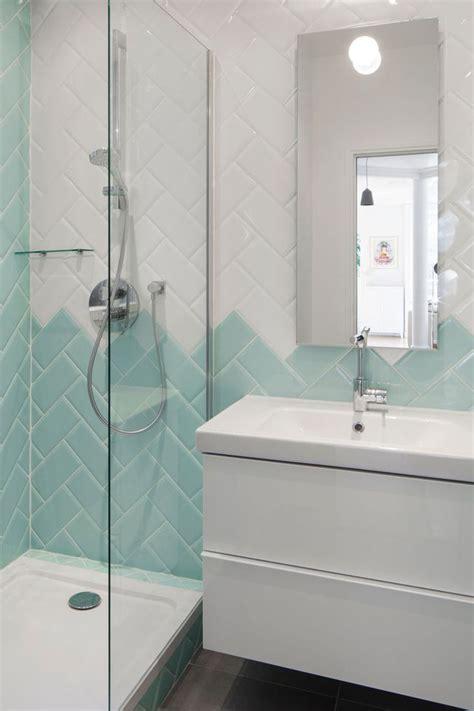 bleu dans la salle de bains 10 inspirations d 233 co c 244 t 233 maison