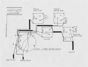 Hofner Committee Guitar Schematic Diagram