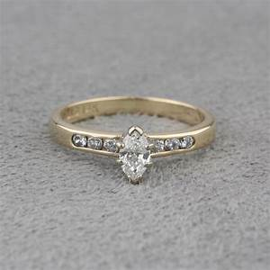 pre owned diamond engagement ring With pre owned wedding ring