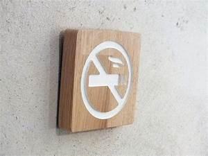 Panneau Interdiction De Fumer : panneau en bois interdiction de fumer ~ Melissatoandfro.com Idées de Décoration
