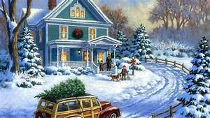 Christmas Painting Hd Wallpapers – Christmas Wishes