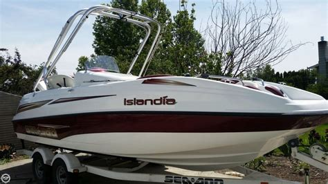 Sea Doo Islandia Jet Boat by 2006 Used Sea Doo 22 Islandia Jet Boat For Sale 24 000