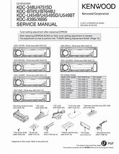 Kenwood Model Kdc Mp 445u Wiring Diagram