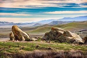 Carrizo, Plain, An, Amazing, Landscape, In, California, That, Gets