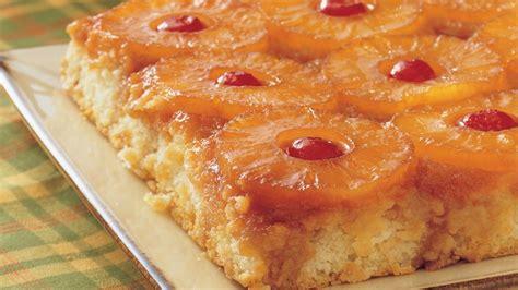 pineapple upside  cake recipe bettycrockercom