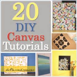 kitchen gardening ideas 20 diy canvas tutorials