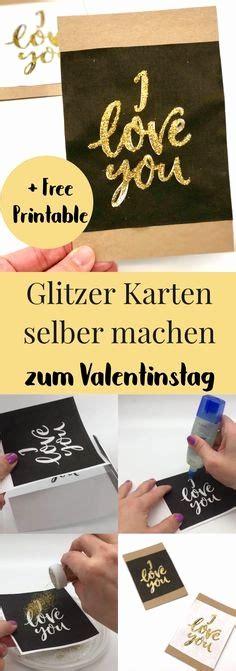 geschenkkarten selber basteln basteln valentinstag