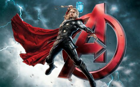 avengers fantasy warrior thor super hero poster ultra