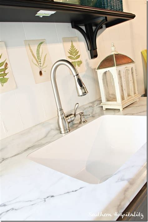 karran sink and formica countertop southern hospitality