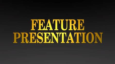 Gold Feature Presentation logo in Blender (Version #2 ...