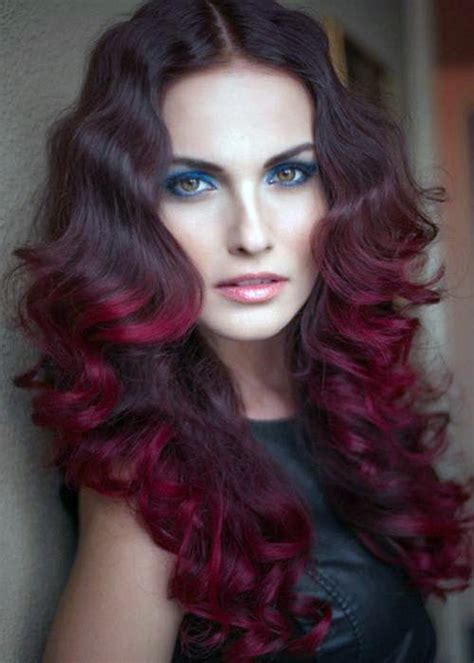 red violet hair color ideas inofashionstylecom