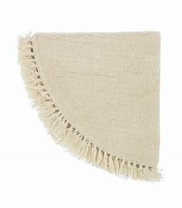 tapis rond en laine beige nature 110cm With tapis rond laine