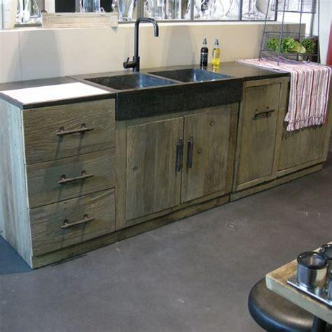 plan de travail cuisine bois brut cuisine où trouver des meubles indépendants en bois brut