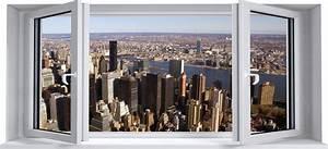 Wand Poster New York : wandtattoos folies wandtattoo fototapete fenster ~ Markanthonyermac.com Haus und Dekorationen