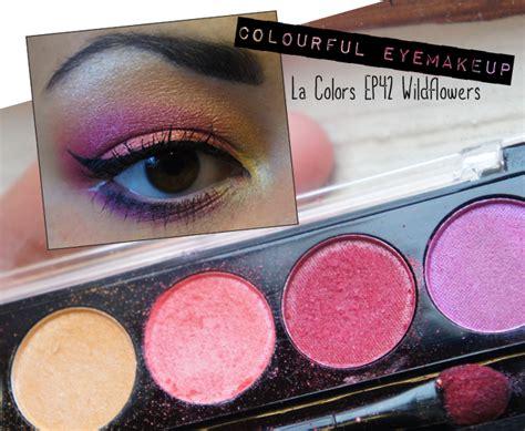 Yolanda G: ♥ La Colors EP42 Wildflowers Palette EOTD