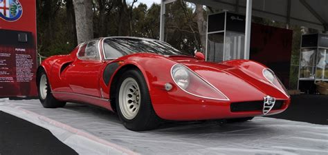 Alfa Romeo 33 Stradale by 1967 Alfa Romeo Tipo 33 Stradale