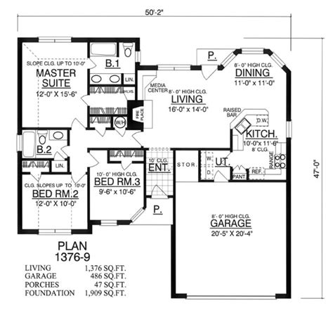stunning home designs floor plans the beautiful windows 8169 3 bedrooms and 2 5 baths