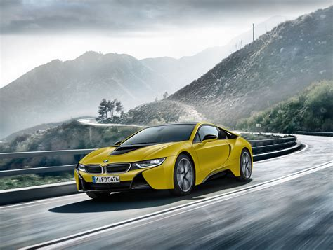 Wallpaper Bmw I8 Frozen Yellow Edition 2017 Automotive