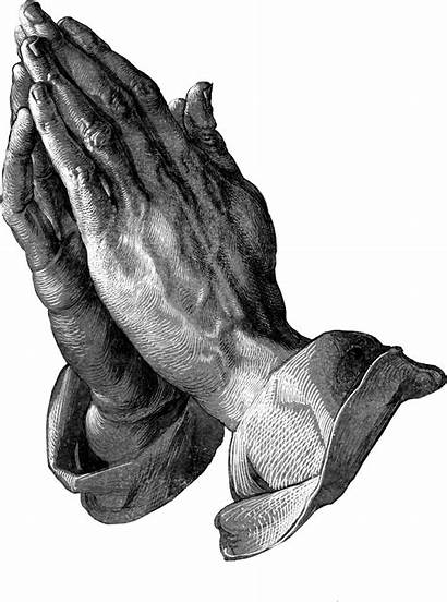 Praying Hands Transparent Clipart Durer Albrecht Pray