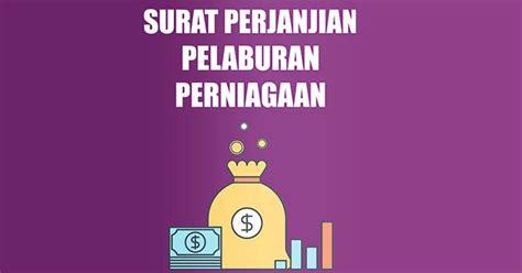 surat perjanjian pelaburan perniagaan portal malaysia