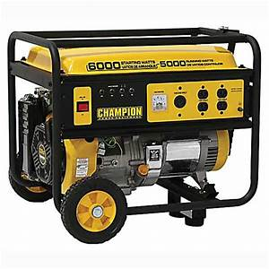 Champion Power Equipment  5000w  6000w Portable Generator